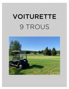 VOITURETTE 9 TROUS